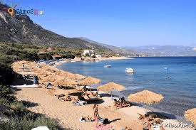 Ιερά Μονή Μακρυμάλλη  Παραλία Λιμνιώνα